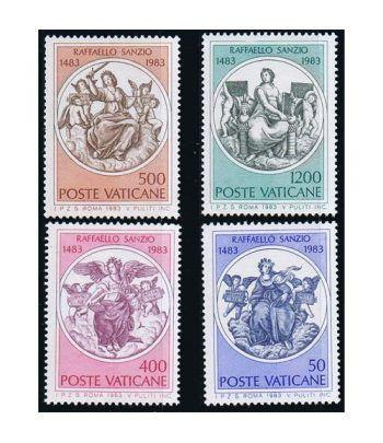 Vaticano 0743/46 500 Aniversario Rafael 1983.  - 2