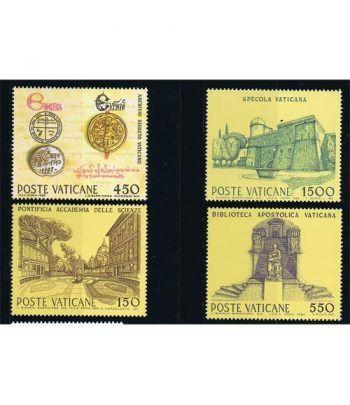 Vaticano 0751/54 Instituciones culturales y científicas 1984.  - 2