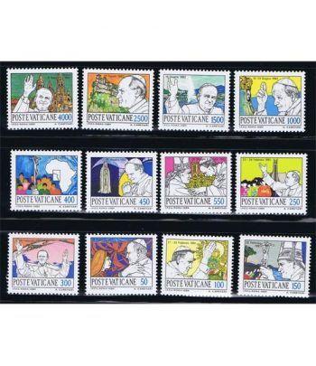 Vaticano 0755/66 Viajes de Juan Pablo II (II) 1984.  - 2