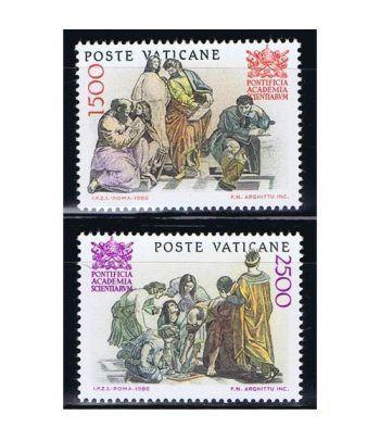 Vaticano 0800/01 Academia Pontificia de Ciencias 1986.  - 2
