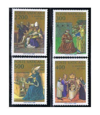 Vaticano 0802/05 Bautismo de San Agustín 1987.  - 2