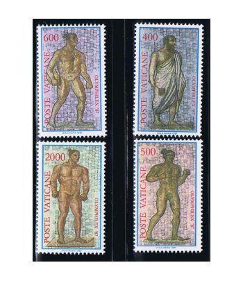 Vaticano 0811/14 Exposición Filatélica Olymphilex' 87.  - 2