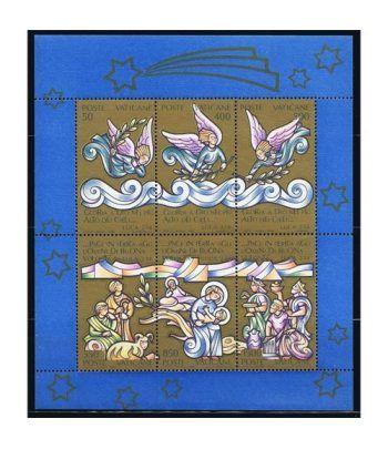 Vaticano HB 10 Navidad 1988.  - 2