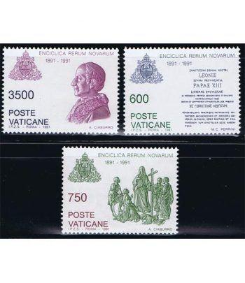 Vaticano 0903/05 Encíclica Rerum Novarum 1991.  - 2