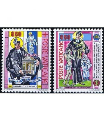 Vaticano 0924/25 San Giuseppe Benedetto Cottolengo 1992.  - 2