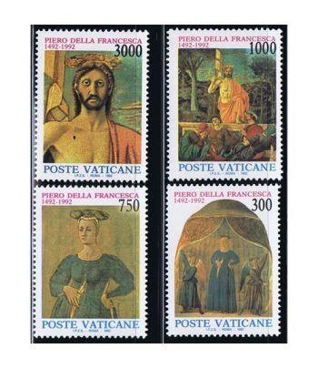 Vaticano 0926/29 Pintor Piero della Francesca 1992.  - 2