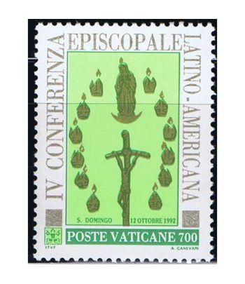 Vaticano 0936 Conferencia Episcopado latino americano 1992.  - 2