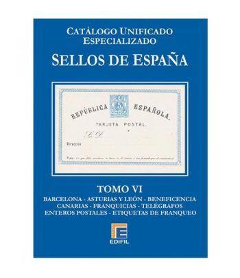 EDIFIL España Serie azul 2017 especializado Tomo VI.  - 2