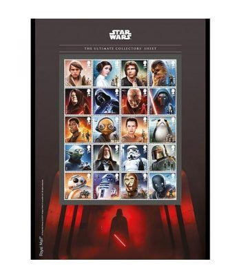 Cine Gran Bretaña 2017 Star Wars El Último Jedi Set colección.  - 2