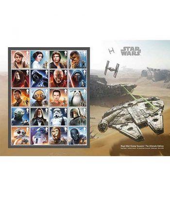 Cine Gran Bretaña 2017 Star Wars El Último Jedi Souvenir Pack.  - 1