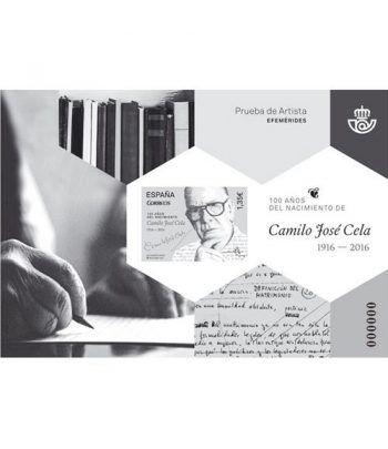 Prueba Lujo 132 100 años Camilo José Cela 1916-2016.  - 2