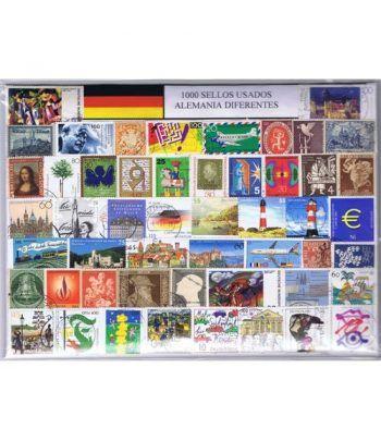 Alemania 1000 sellos usados diferentes  - 2