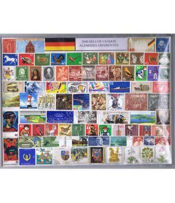 Alemania 2000 sellos usados diferentes  - 2