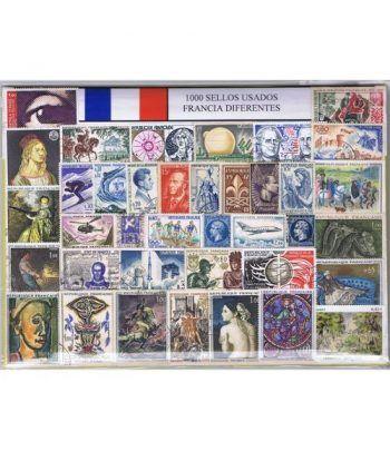 Francia 1000 sellos usados diferentes  - 2