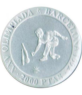 2000 Pesetas 1991 Juegos Olimpicos Barcelona'92 Bolos suelta  - 1