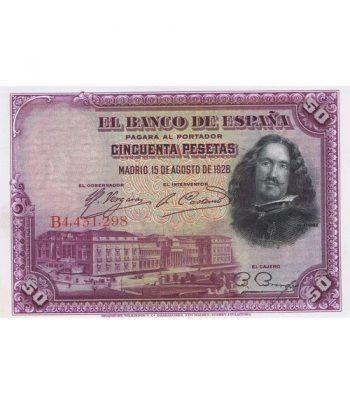 (1928/15/08) Madrid 50 Pesetas SC.  - 1