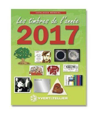 YVERT ET TELLIER Novedades mundiales 2017. Catalogos Filatelia - 2
