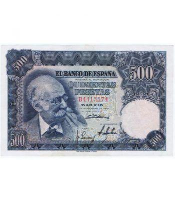 (1951/11/15) Madrid. 500 Pesetas. SC-. Serie B4415574  - 1
