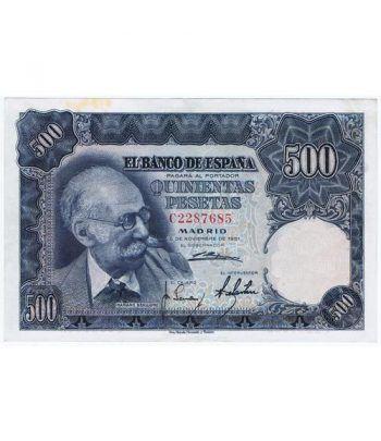 (1951/11/15) Madrid. 500 Pesetas. EBC. Serie C2287685  - 1