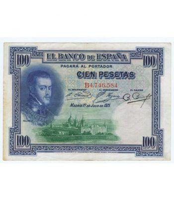 (1925/01/07) Madrid 100 Pesetas MBC. Serie B4746584  - 1