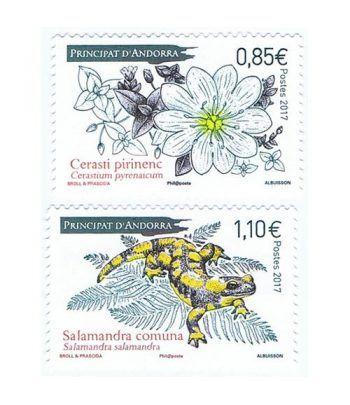 816/17 Flora y Fauna. Salamandra y Cerasti pirinenc  - 2