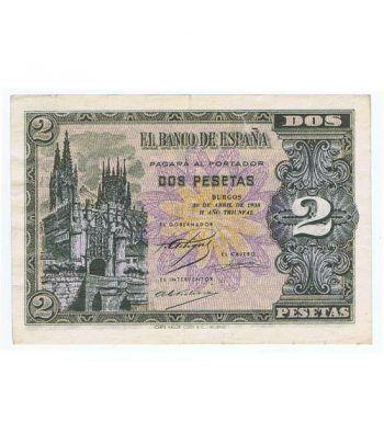 (1938/04/30) Burgos. 2 Pesetas. EBC. Serie B8736352  - 1