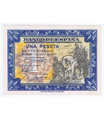 (1940/06/01) Madrid. 1 Peseta. SC. Serie C4624766.  - 1