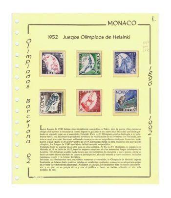 Colección Sellos Olimpiadas. Año 1956 a 1992.  - 1