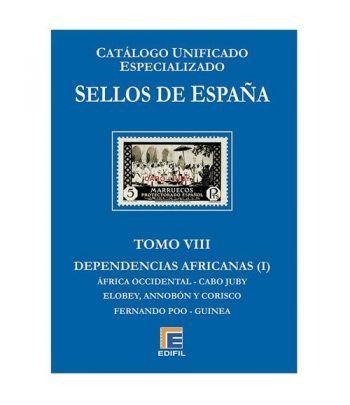 EDIFIL España Serie azul 2018 especializado Tomo VIII.  - 2