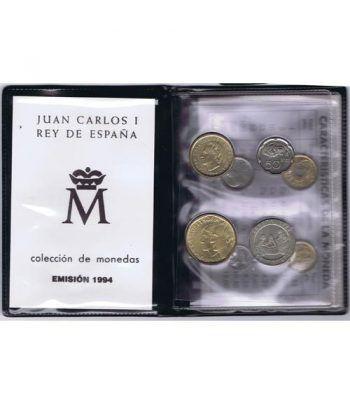 (1994) Cartera Juan Carlos I. 8 monedas  - 1