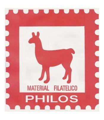 PHILOS España 2018 1º (montado con estuches) Hojas sellos Philos - 2