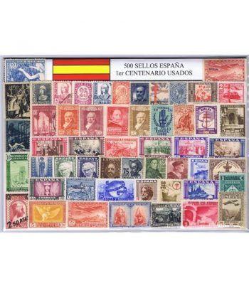 0500 Sellos usados de España Primer Centenario.  - 2