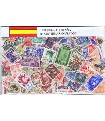 0200 Sellos usados de España Primer Centenario.  - 2
