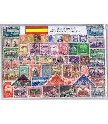 0700 Sellos usados de España Primer Centenario.  - 2