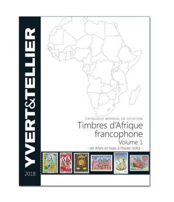 YVERT ET TELLIER Africa Francófona Tomo 1 (A- H) 2018 Catalogos Filatelia - 2