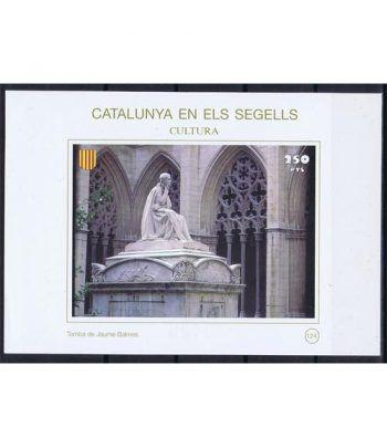 Catalunya en els segells nº124 Tomba de Jaume Balmes  - 2