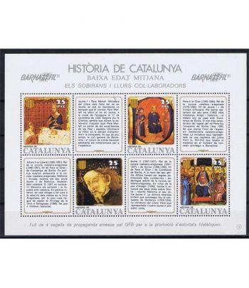Història de Catalunya nº18 Sobirans i llurs col.laboradors.  - 2
