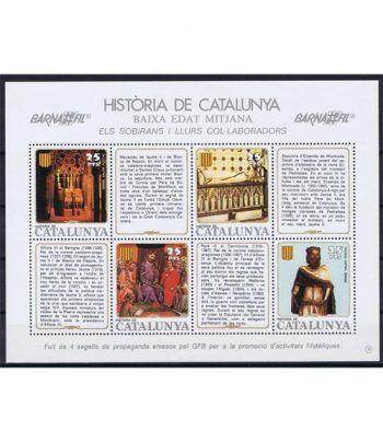 Història de Catalunya nº19 Sobirans i llurs col.laboradors.  - 2