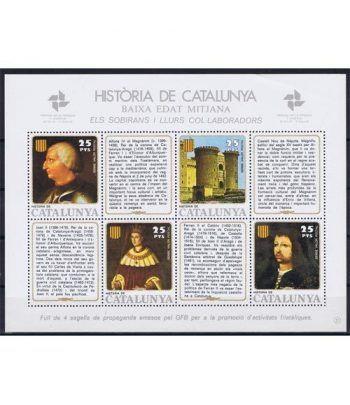 Història de Catalunya nº21 Sobirans i llurs col.laboradors.  - 2