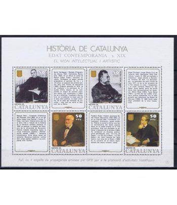 Història de Catalunya nº39 Món intel.lectual i Artístic  - 2