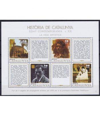 Història de Catalunya nº47 S. XX. La vida artística  - 2