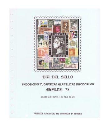 1978 Documento 5 Exfilna 78. Bilbao. Dia del Sello.  - 1