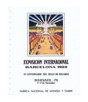 1979 Documento 9 BARNAFIL'79 Exposición Barcelona 1929  - 1