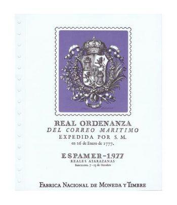 1977 Documento 3 ESPAMER 77. Barcelona.  - 1