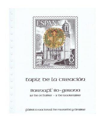 1980 Documento 13 BARNAFIL'80 Gerona. Tapiz de la Creación.  - 1