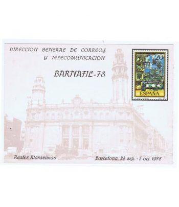 1978 BARNAFIL '78 Reales Atarazanas. Hojita Recuerdo  - 2