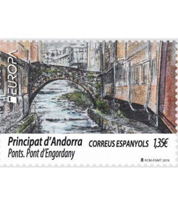 468 Europa. Puentes. Puente de Engordany  - 2