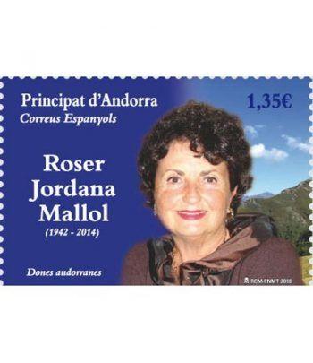 469 Mujeres andorranas. Roser Jordana Mallol  - 2