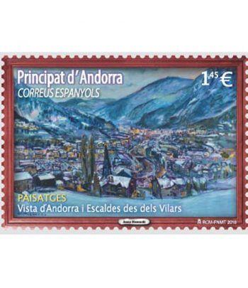 475 Vista de Andorra y Escaldes desde Els Vilars  - 2