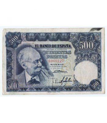 (1951/11/15) Madrid. 500 Pesetas. MBC. Sin Serie 8960227  - 1